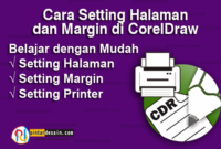 Setting Halaman & Margin di CorelDraw