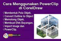 Cara Menggunakan PowerClip di CorelDraw